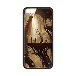 Fantasy Castle Pattern Hard Case Cover For For Iphone Case 6 5.5 Inch color3 by runtopwell