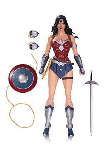 DC Collectibles DC Comics Icons: Wonder Woman from Justice League: The Amazo Virus Action Figure