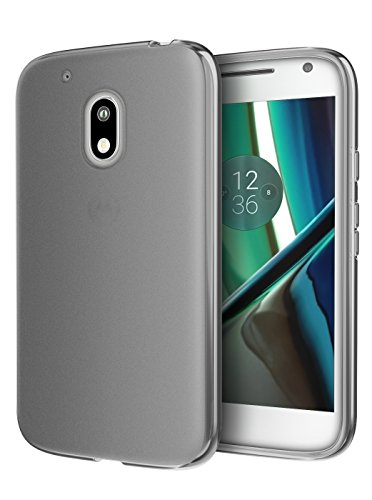 Moto G Play Case, Cimo [Matte] Premium Slim Fit Protective Cover for Motorola Moto G4 Play (2016) - Smoke