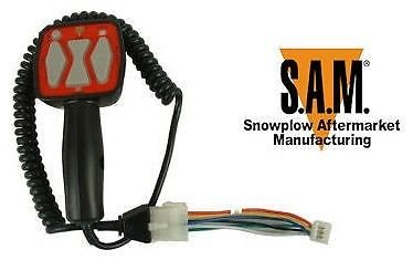 SAM Replacement Snowplow Controller - Replaces Western/Fisher OEM Part# 9400, Model# 1306902