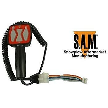 amazon com sam 1306901 replacement snowplow controller replaces sam replacement snowplow controller replaces western fisher oem part 9400 model 1306902