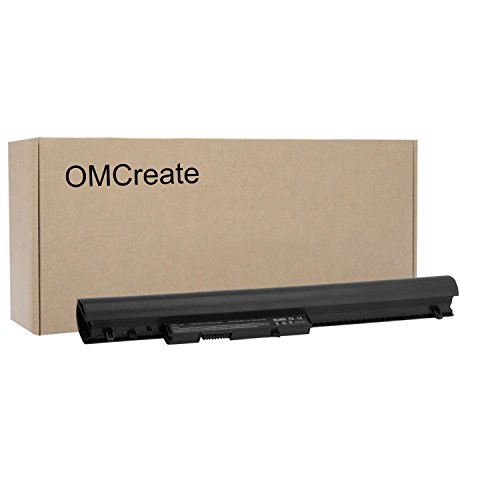 OMCreate Battery Compatible with HP 776622-001 728460-001 752237-001 LA04 LA04DF TPN-Q132 TPN-Q129 HSTNN-DB5M HSTNN-YB5M HSTNN-UB5M F3B96AA ; HP Pavilion 14 15 TouchSmart Series - 12 Months Warranty