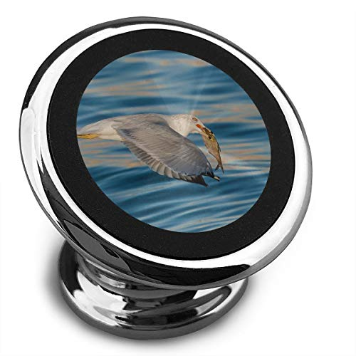 Magnetic Car Phone Mount Holder Flight Fish Seagull Stands Mobile Bracket 360 Degree Rotation from Dashboard