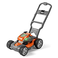 Young or old, everyone wants to perform like the pros. Husqvarna's new toy mower is perfect for budding professionals. It's a fun and safe way for kids to be a part of the outdoor chores. Modeled after the Husqvarna HU800AWD mower. Real engin...