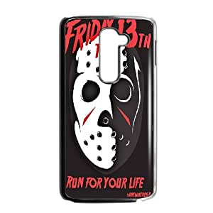 DIY Printed Friday The 13Th hard plastic case skin cover For LG G2 SNQ752094