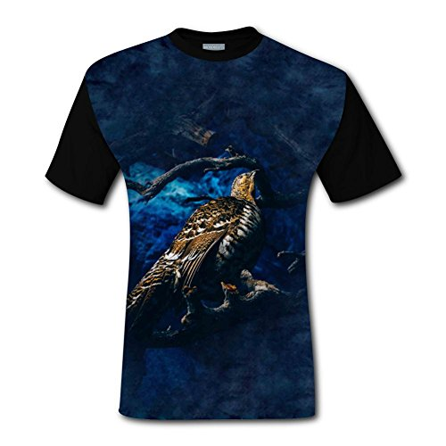 Compression Sac Set (100% Cotton New Awesome Tshirt 3D Custome With Eagle For Men L)