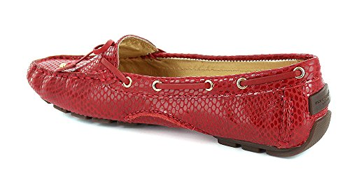 Marc Joseph New York Vrouwen Cipresheuvel Loafer Red Snake
