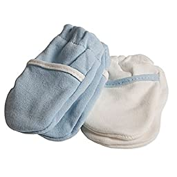 Safety 1st 2 Pair No-Scratch Mittens