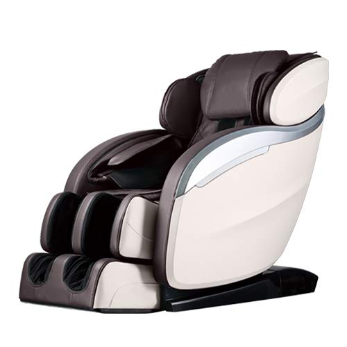 Foot Therapy System - Massage Chair,Zero Gravity Full Body Electric Shiatsu Massage Chair Recliner with Built-in Heat Therapy Foot Roller Air Massage System SL-Track Stretch Vibrating Wireless Bluetooth Speaker Brown PS4