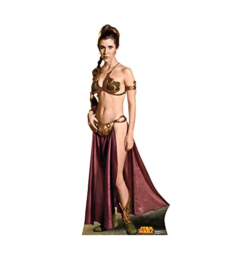 Advanced Graphics Princess Leia Life Size Cardboard Cutout Standup - Star Wars Classics Retouched -