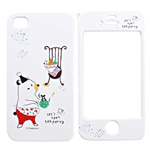HP DFFull Body Case for iPhone 4/4S - Funny Pig