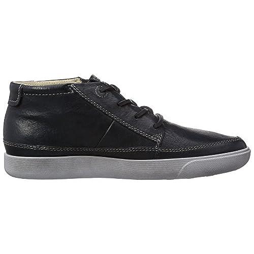 Dockers 346042-001068 - Zapatos con cordones de cuero mujer, color azul, talla 36
