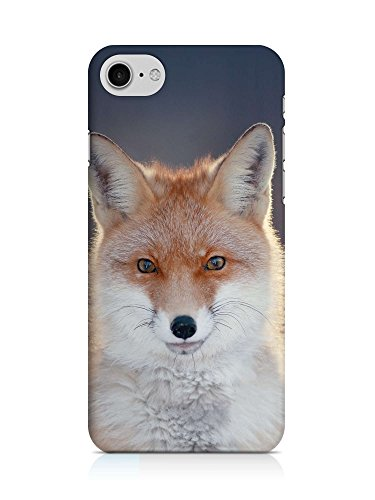 COVER Fuchs front rot Design Handy Hülle Case 3D-Druck Top-Qualität kratzfest Apple iPhone 7