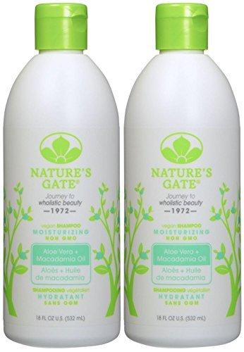 Nature's Gate Moisturizing Shampoo with Aloe Vera - 18 oz - 2 pk ()