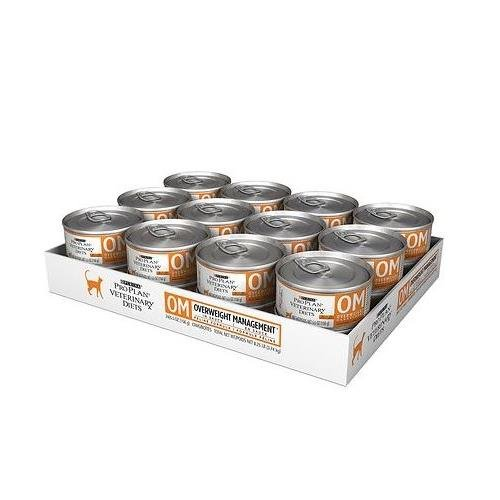 Purina OM Overweight Management Canned Cat Food (24 – 5.5oz cans)