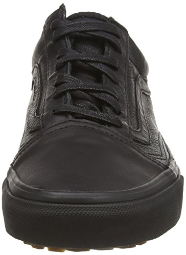 MTE Leather Negro Zapatillas Mte U Unisex Vans Old SKOOL Negro w4zqqatx