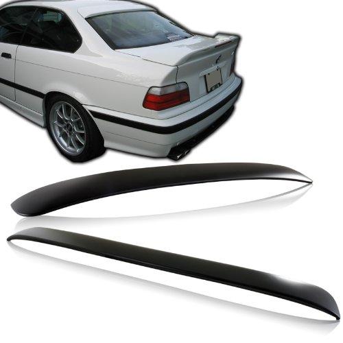 1992 - 1998 BMW E36 3 Series ABS Plastic Rear Window Visor / Roof Spoiler (Spoiler Abs Roof)