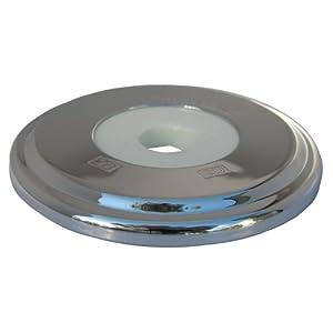 Lasco 03 6011 Bathtub Spout With Round Trim Plate Chrome