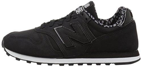 Para black Mujer Negro Zapatillas Balance 373 New waqUztPz