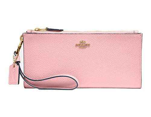 COACH Womens Double Zip Wallet