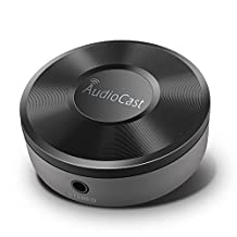 Wifi Audio Receiver, Wifi Music Receiver, Wireless Audio Adapter for your Speakers (Featuring Airplay Spotify)