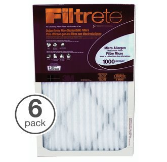 14x30x1, Filtrete Micro Allergen Air Filter, MERV 11, by 3m