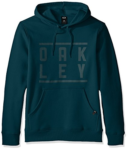 oakley-mens-token-pullover-sweatshirt-forest-green-large