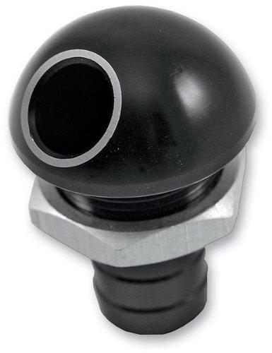 Blowsion Billet Bilge Fitting - 45 Deg. - Black 04-03-031
