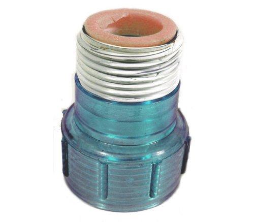 Aqua Ultraviolet Quartz Cap w/Ring, Clear Blue [Misc.]