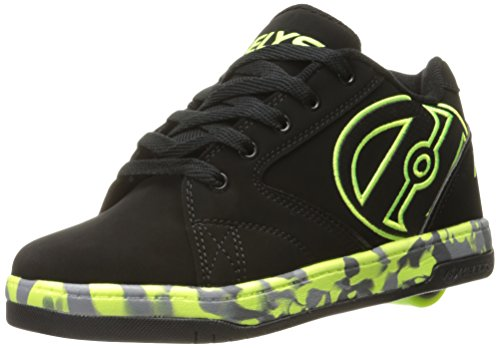 Heelys Propel 2.0 Mens Sneaker Nero / Giallo Brillante / Nero