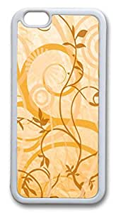 iphone 6 4.7inch Case iphone 6 4.7inch CasesVine Motifs TPU Rubber Soft Case Back Cover for iphone 6 4.7inch White