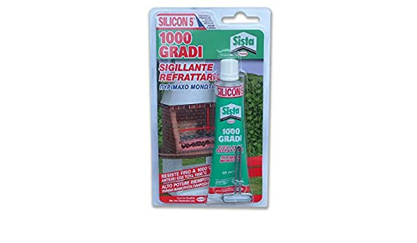 Pattex 1502434 sellador ideal para barbacoa y chimeneas 60 ml: Amazon.es: Bricolaje y herramientas