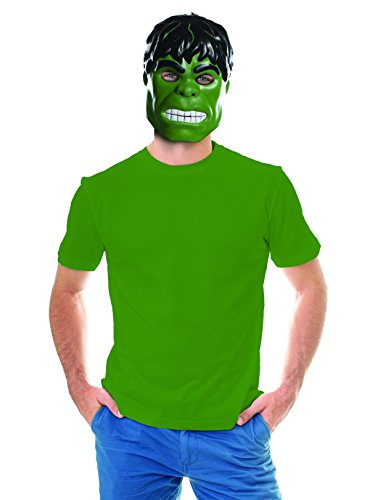 Rubie's Costume Co Unisex-Adults Ben Cooper Hulk Mask, Multi, One Size]()