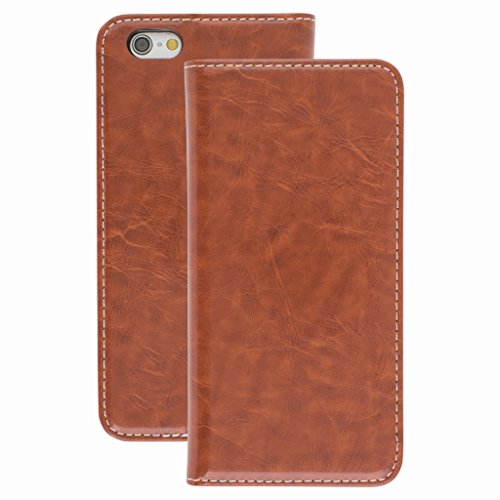 Good Quality Apple iphone 6s Case cover, Apple iPhone 6s Brown Designer Style Wallet Case Cover