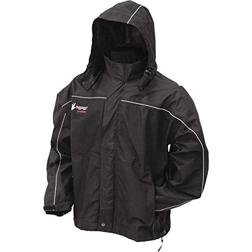 Frogg Toggs Toadz Highway Jacket (Black, X-Large)