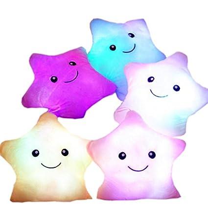 regalo per bambini peluche a forma di stella con LED KiKa Monkey