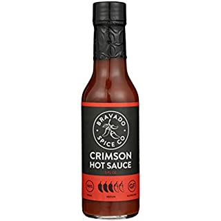 Bravado Spice Crimson Hot Sauce | Gluten Free | Vegan | All Natural | Hot Ones