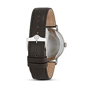 Bulova Reloj Analogico para Hombre de Cuarzo con Correa en Piel 96B242 2