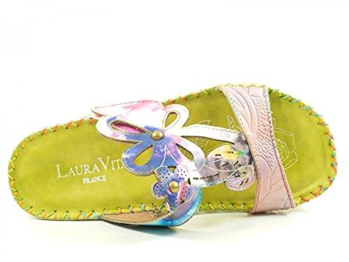 abiertos Vita BRYAN Mujeres weiß Zapatos Grün verde Laura 15 kombi 0wvqtdw