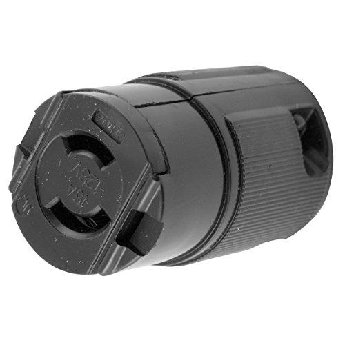 Hubbell HBL7464V Locking Connector, Midget, 15 amp, 125V, Ml-1R ()
