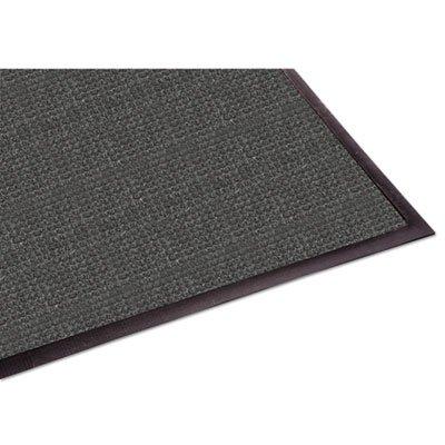 WaterGuard Wiper Scraper Indoor Mat, 36 x 60, Charcoal, Sold as 1 Each 60 Reinforced Wipers