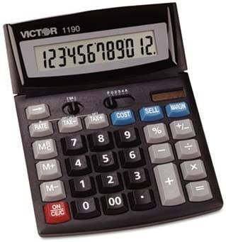 3 Pack 1190 Executive Desktop Calculator, 12-Digit LCD by VICTOR (Catalog Category: Office Equipment & Equipment Supplies / Calculators) by Victor