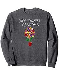 World's Best Grandma Sweatshirt Gift For Grandmothers