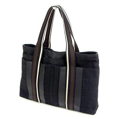 (エルメス) Hermès トートバッグ ブラック トロカホリゾンタルMM レディース 中古 T5991 B0795325CK