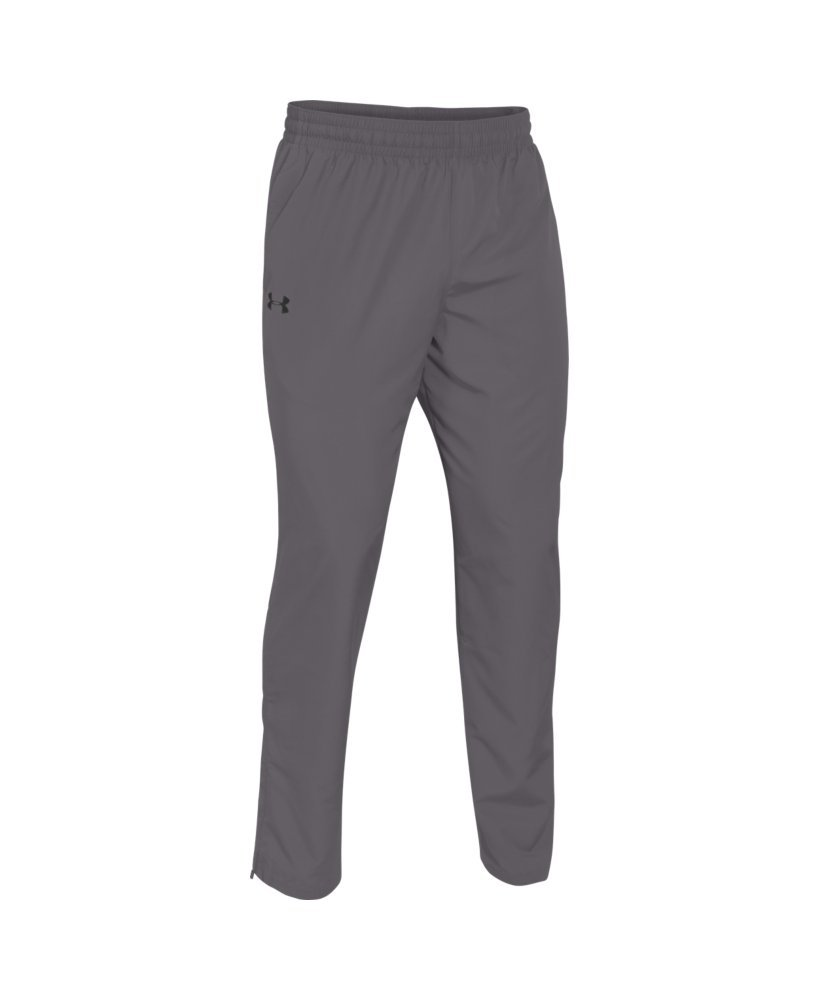 Under Armour Men's Vital Warm-Up Pants, Graphite /Black, Small by Under Armour (Image #4)