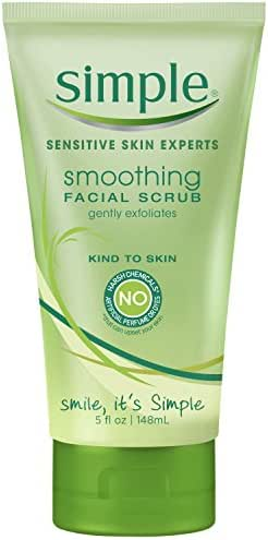 Facial Cleanser: Simple Smoothing Facial Scrub