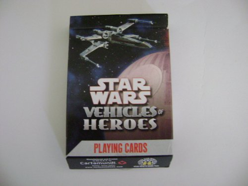 Star Wars Heroes Vehicles Playing Cards -
