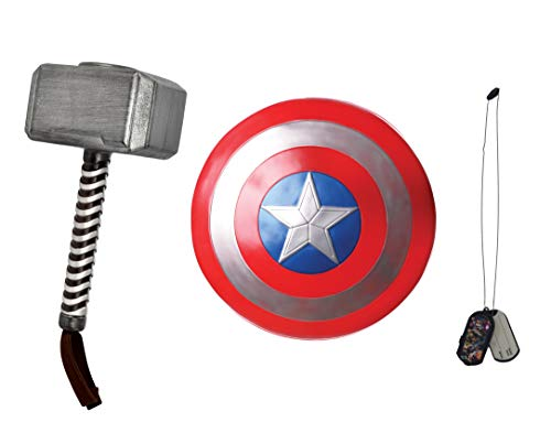 Rubie's All Ages Marvel Captain America and Thor Costume Accessory Kit -