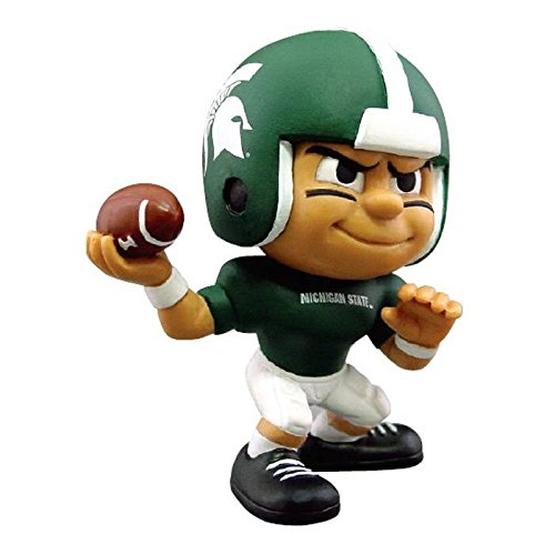 Michigan State Spartans Official NCAA 2 inch x 2.5 inch x 3 inch Lil Teammates NCAA Quarterback Series 2 Toy Figure by Party Animal Inc 502084 by The Party Animal