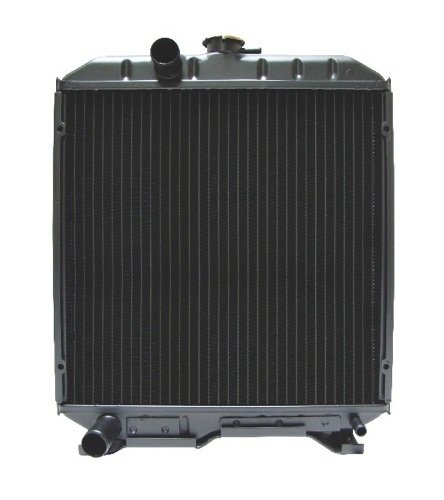17355-72060 New Radiator Made to fit Kubota Compact Tractor Models L2850 ()
